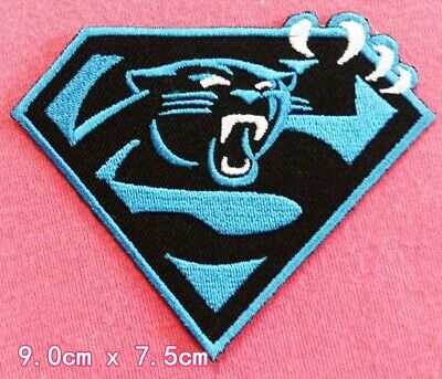 pretty nice 12c95 b75e8 CAROLINA PANTHERS HELMET Logo Embroidered Iron On Patch ...