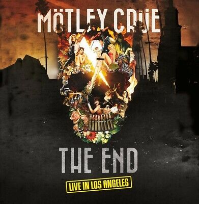 Motley Crue The End Live In Los Angeles DVD + CD New 2016
