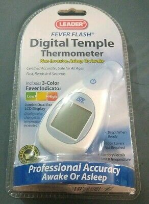 Leader 6 Second Digital Temple Thermometer