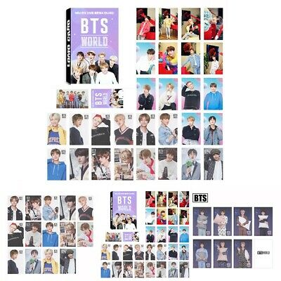 30/7pcs/Set Paper Photo Card World OST Suga V Photocard HD Collective Card 2019
