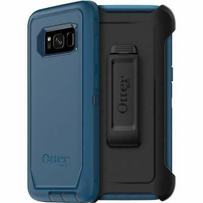 Authentic Otterbox Defender Series Case Samsung Galaxy S8 W/ Holster - Blue