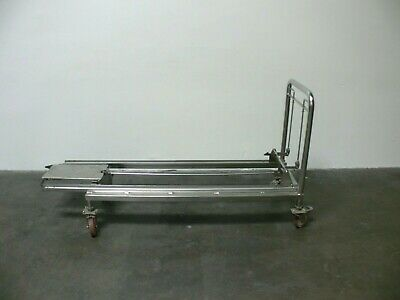 "Autoclave/Sterilizer Stainless Steel 23"" x 71"" Rolling Cart"