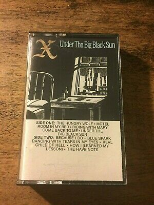 Under the Big Black Sun produced by Ray Manzarek of the Doors cassette