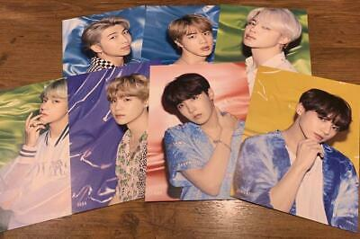 BTS Lights Boy With Luv Flyer 7 set TOWER RECORDS SHIBUYA official
