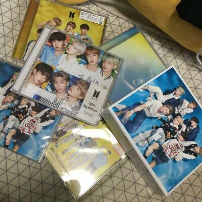 BTS Lights Boy With Luv 5 CD DVD set with BOX + FC changing jacket official