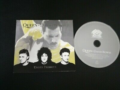 Cd Single Queen and David Bowie Under pressure (Holland) Digipack