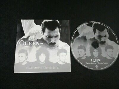 Cd Single Queen and David Bowie Under pressure (UK) Cardboard Promo