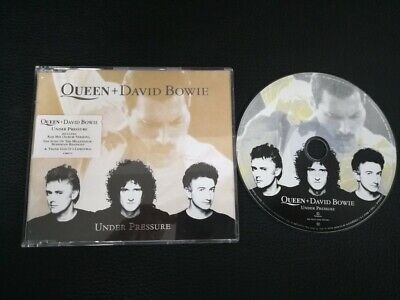 Cd Single Queen and David Bowie Under pressure (Holland)