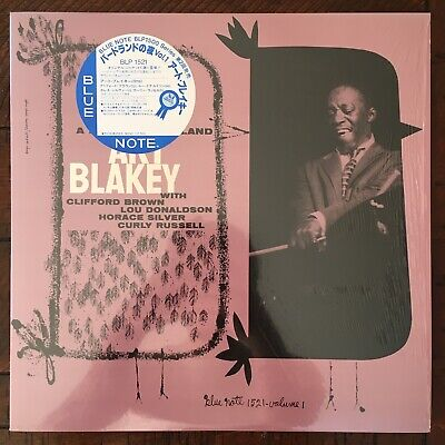 Art Blakey Quintet - A Night At Birdland Volume 1 JAPAN Blue Note OBI LP JAZZ