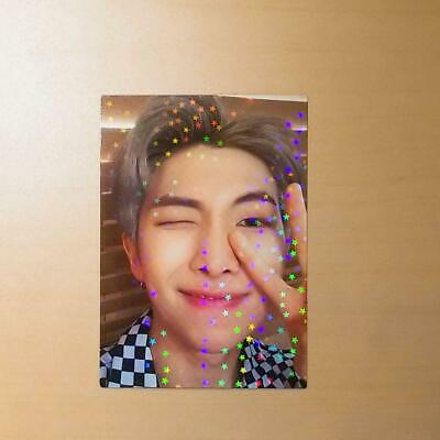 BTS WORLD TOUR Speak Yourself RM official FC registration photocard renew army