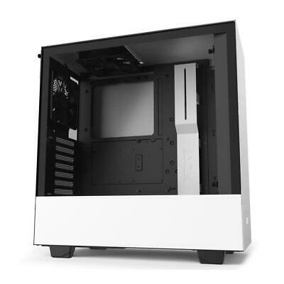 NZXT H510 Gaming Tempered Glass Mid-Tower ATX Desktop Computer PC Case White