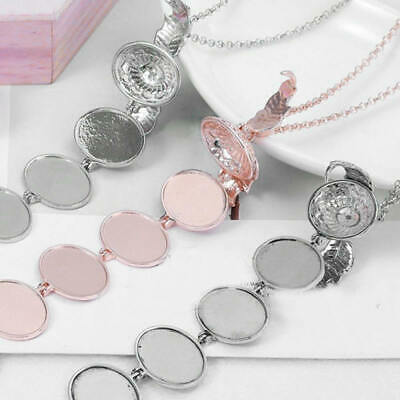 HOT Hollow Wings Expanding  Photo Locket Ball Pendant Necklace Memorial Gift