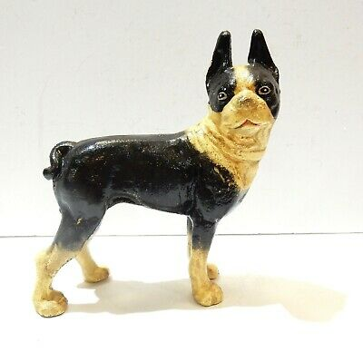 Cast Iron French Bulldog Frenchie Door Stop Ornament