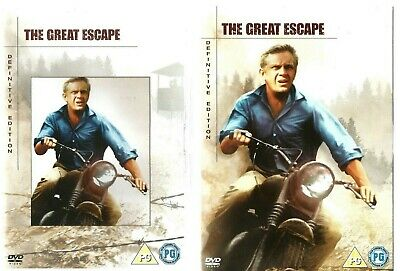 The Great Escape: Definitive Edition (1963)...2 x DVD Set...Pre-owned VG..
