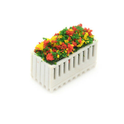 Flower Beds Plants Miniature Landscape Fairy Garden Decor Dollhouse AccessoryES