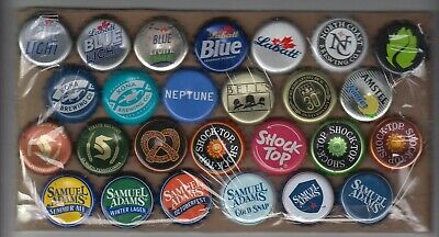 26 diff used but undented MOLSON COORS beer bottle crown caps