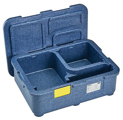 Cambro 2 hour Hot & Cold Food 4 Compartment Delivery Box Litres EPPMD4835