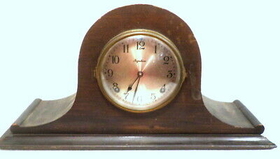 Ingraham 8 Day Strike Mantle Clock--Use for Parts/Repair