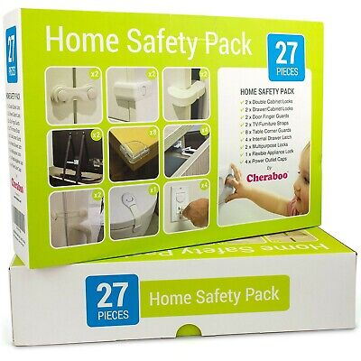 Cheraboo Toddler Home Safety Kit - Best Child Protection Pack For Kitchen Cup...
