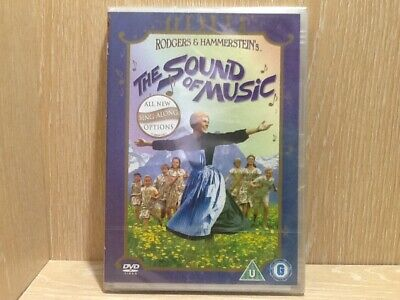 The Sound of Music DVD Singalong Edition New & Sealed Sing Along