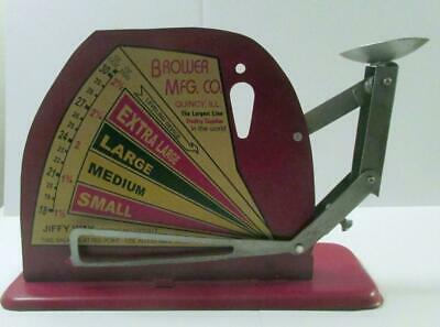 A Very Nice Jiffy Way Manufacturing Co. Egg Scale