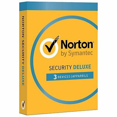 Norton Security Deluxe (PC/Mac) - 3 Devices - 1 Year Subscription