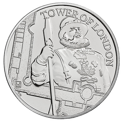 The Tower of London - The Yeoman Warders 2019  £5 BU Coin Pack
