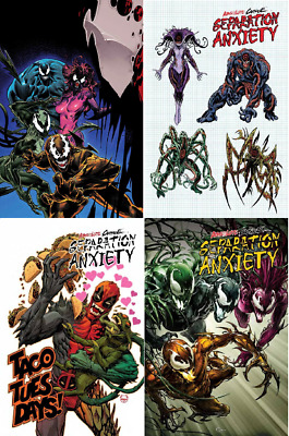 Absolute Carnage Separation Anxiety #1 Crain Codex 1:10 1:25 1:50 (2019) MARVEL