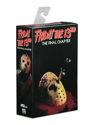 """NECA Friday the 13th Part 4 FINAL CHAPTER JASON VOORHEES 7"""" Ultimate Figure (IV)"""