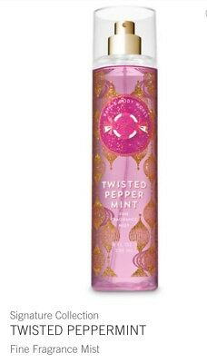Bath And Body Works Twisted Peppermint Fine Fragrance Mist 8oz
