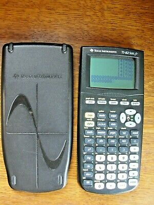 Texas Instruments TI-82 Stats.fr  FRENCH Language Graphing Calculator ~ Works