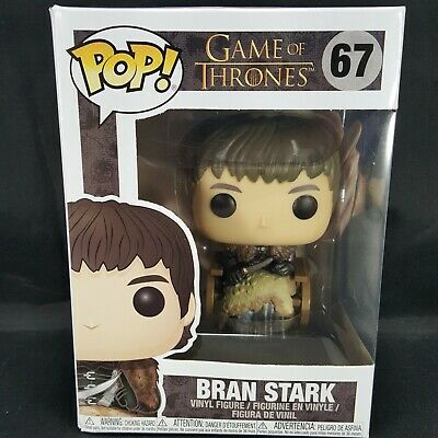 Funko Pop Game of Thrones Bran Stark in Wheelchair Vinyl Figure New #67