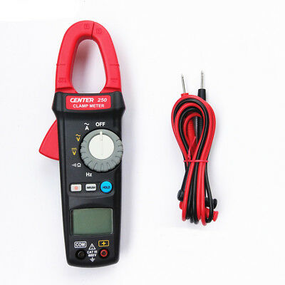 H● CENTER-250 AC Clamp Meter True-RMS, INRUSH Current Analysis.