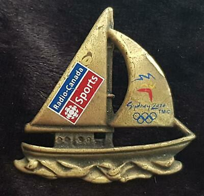 SYDNEY 2000 OLYMPIC SPORTS RADIO CANADA MEDIA SALIBOAT YACHT PIN Ltd 250 Pieces