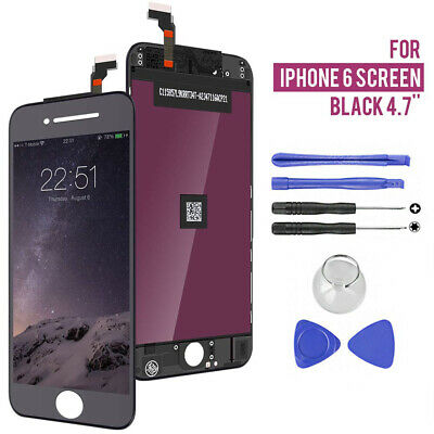 For iPhone 6 OEM Screen Replacement LCD Dispaly Digitizer Assembly Frame + Tools