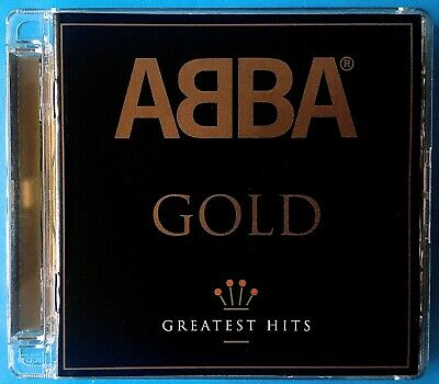 ABBA: GOLD - GREATEST HITS (Best Of CD, Polar 2008) REMASTERED, SUPER JEWEL CASE