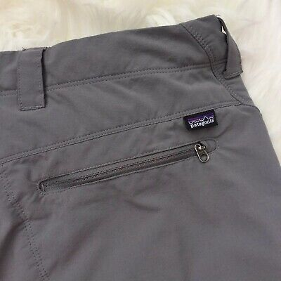 Patagonia Women's Size 6 Outdoor Hiking Pants Nylon Stretch Cargo Zip Pocket