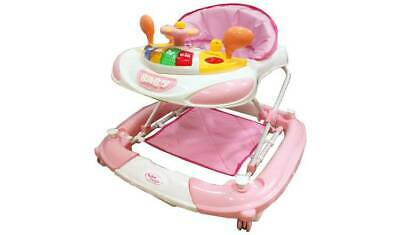 Bebe Style F1 Racing Car Walker n Rocker - Pink With Or Without The Pad NEW_UK