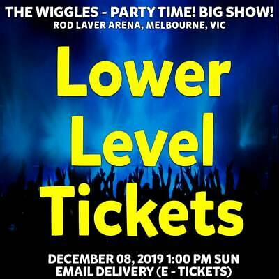 The Wiggles | Melbourne | Lower Level Reserved Tickets | Sun 08 Dec 2019 1Pm