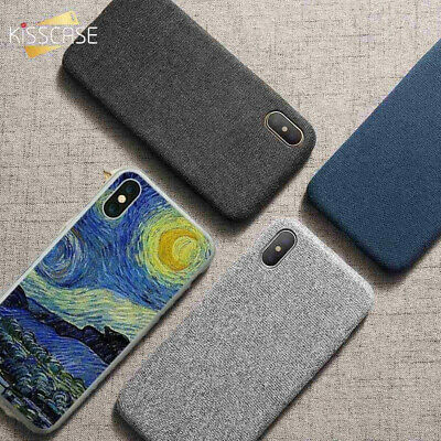 NEW style Oil Painting Print & Soild Phone Case Cover for iPhone X 7 8 6S Plus 6