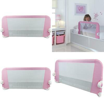 NEW Easy Fit Bed Guard Pink The Easy Fit Bed Guard Helps Children Make UK STOCK