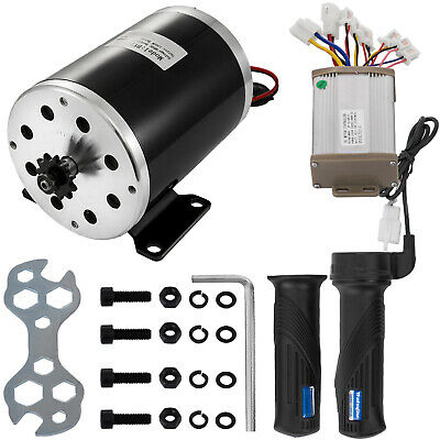 1000W 48V Electric Motor Kit w// Base Speed Control /& Thumb Throttle for Scooter
