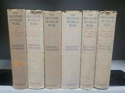 The Second World War - Winston S.Churchill - 6 Books. (ID:5491)