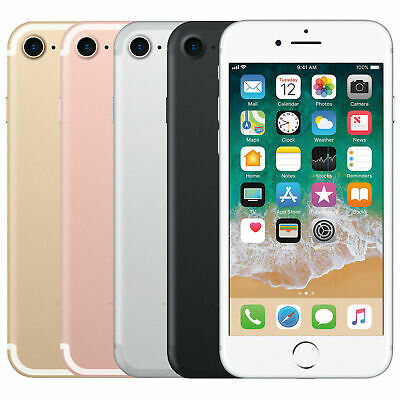 Apple iPhone 7 - 32GB (Factory Unlocked / AT&T T-Mobile) LTE Smartphone