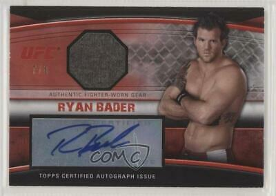 2010 TOPPS UFC KNOCKOUT EVAN DUNHAM AUTHENTIC FIGHTER-WORN GEAR RELIC //188