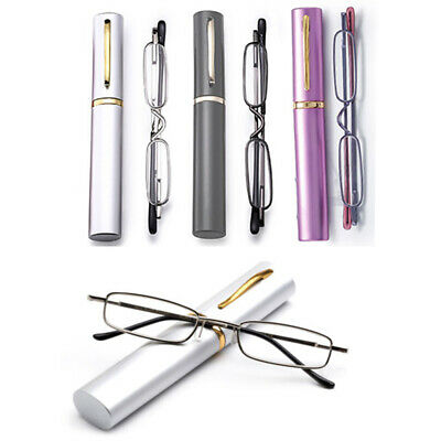 Slim Reading Lightweight Reading Glasses for 1.5 & 2.5 Unisex Easy to Carry