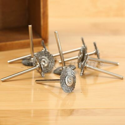 10Pcs Stainless Steel Wire Wheel Brushes Die Grinder Power Rotary Tool Wholesale