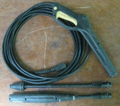 KARCHER ELECTRIC PRESSURE washer replacement hose, trigger gun, 2 wands,  manual