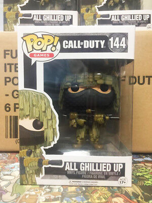 Funko Pop Call of Duty All Ghillied Up #144 Vaulted Mint