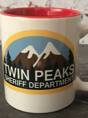 Twin Peaks Sheriff/'s Dept Grey Jumper Fine Coffee Cooper TV Shirt